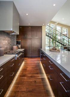 Modern Kitchen Interior Freeman Residence by LMK Interior Design Home Decor Kitchen, Interior Design Kitchen, Modern Interior Design, Modern House Design, Kitchen Ideas, Kitchen Designs, Diy Kitchen, Interior Architecture, Kitchen Time