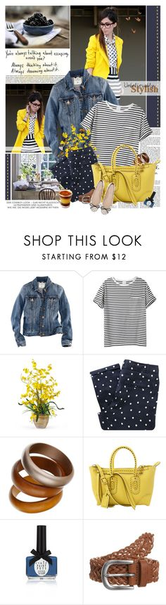"""""""polka dots & stripes"""" by jesuisunlapin ❤ liked on Polyvore featuring Vanity Fair, H&M, AR SRPLS, Nearly Natural, Sessùn, Dorothy Perkins, Alexander McQueen, Ciaté, Anna Field and Zara"""