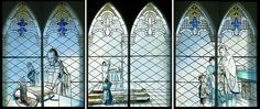 #church #windows of the #catholic #mass at #Église (#church) Saint Joseph #d'Orléans, #Ottawa, #Ontario, #Canada.