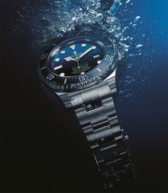 """ames Cameron Gets A Special ROLEX Deepsea Watch Made In Honor Of Him And His New Film - see Ariel's article in Forbes """"They say important people wear Rolex watches, but how important do you need to be in order to get a special Rolex watch made in your honor? That is something that doesn't happen very often..."""" ...then see more detailed information on the watch in our release write-up: http://www.ablogtowatch.com/rolex-deepsea-d-blue-watch-james-cameron-challenge-3d-movie/"""