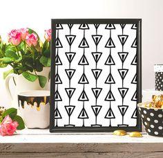 Triangle Pattern Print Tribal style Black And White Digital #pattern #ink #blackink #black #artwork #artist #art #black_and_white #blackandwhite #homedecor #decor #etsy #etsyshop #etsyseller #instantdownload #lineart #inkart #nurseryprint #nursery #artprint #drawing #brush #draw #digital #digitalart #minimalism #minimalist #minimalistprint #handmade #arts #arte #white #illustration #wallartprint #patternprint #modern #modernart #modernartprint  #pinterest #frame #decor #printable…