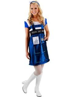 Adult TARDIS Costume - Doctor Who