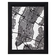 CUT MAPS | Papercut, Houston, Los Angeles, Boston, Denver, Chicago, Detroit, New Orleans | UncommonGoods