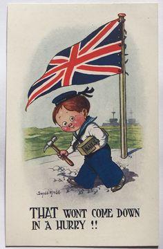 British Patriotic Postcard