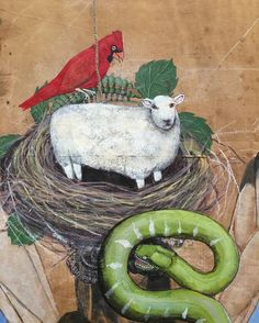 Little Lamb.  #artwork #beauty #sheep