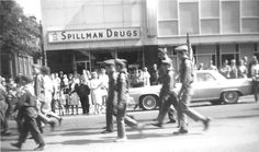 Spillman Drugs on the corner of Wheeling Avenue and East 8th Street