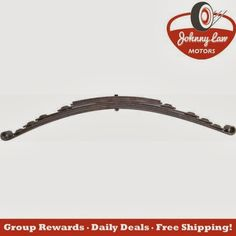 """Here is your FRIDAY Daily Special!!!   The Johnny Law Motors Leaf Spring Ultra Ride (31"""") is $99.25 today!!! Save $69.69!!!   Order here.... http://www.johnnylawmotors.com/catalog/Suspension/Springs/Front-Leaf-Springs/338546/Leaf-Spring-Ultra-Ride-31&refid=5602 #auto #autoparts #carparts #hotrod"""