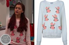 cat valentine outfits - cat valentine outfits - cat valentine outfits victorious - cat valentine outfits for school - cat valentine outfits winter - cat valentine outfits sam and cat Cat Valentine Outfits, Valentine Box, Ariana Grande Outfits, Sam And Cat, Sweater Shop, College Outfits, Her Style, Cute Outfits, Girly Outfits
