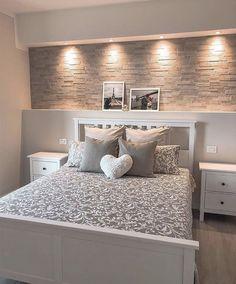 Bedroom Door Design, Bedroom Furniture Design, Home Room Design, Bed Design, Design Bathroom, Room Ideas Bedroom, Home Decor Bedroom, Living Room Decor, Master Bedroom