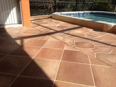 stained concrete patio ideas | Concrete Designs Florida | concrete staining orlando