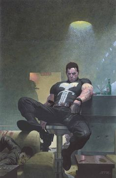 Untold Tales of Punisher MAX #3 by Esad Ribic