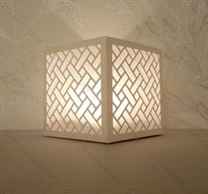 Tea Light Boxes Archives - Monicas Creative Room--So many free files Kirigami, Silhouette Cameo, Silhouette Design, Creative Crafts, Diy And Crafts, Paper Crafts, Candle Lanterns, Paper Lanterns, Concrete Candle Holders