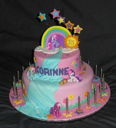 Corrine 21 My Little Pony By Kellis Cakes Via Flickr Cake