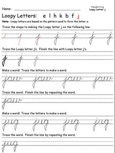 If you have never looked at cursive handwriting before, you may be thinking that it is a completely foreign way of writing. However, when you look at how it was done historically, you will see that there are very similar characteristics of curving or turning that go along with using cursive.