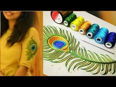 hand embroidery stitches tutorial step by step Hand Embroidery Videos, Embroidery Stitches Tutorial, Hand Embroidery Flowers, Hand Work Embroidery, Creative Embroidery, Hand Embroidery Stitches, Beaded Embroidery, Embroidery Ideas, Zardosi Embroidery