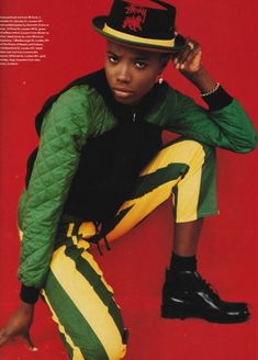 """wgsn: """" Feeling for all things Jamaican after a headline grabbing year for the Caribbean Island. We're seeing red green & gold cropping up all over the place, along with a resurgence in dancehall."""