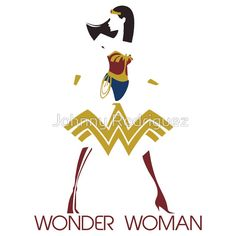 """""""Wonder Woman Art Deco"""" T-Shirts & Hoodies by Johnny Rodriguez Johnny Rodriguez, Wonder Woman Art, Alternate History, Steampunk Fashion, Victorian Era, Science Fiction, Disney Characters, Fictional Characters, Art Deco"""