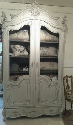 ARMOIRE for linens in upstairs bath