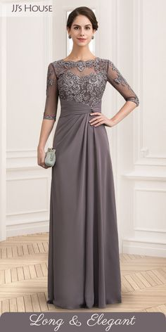 Find elegant mother of the bride & groom dresses at JJ's House in various colors, styles & sizes. Shop now. Mother Of The Bride Dresses Long, Mother Of Bride Outfits, Mothers Dresses, Bride Groom Dress, Bride Gowns, Valentino 2017, Mob Dresses, Wedding Attire, Beautiful Gowns
