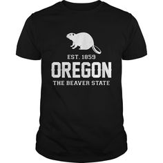 Get yours awesome Oregon The Beaver State Est Best Gift Shirts & Hoodies.  #gift, #idea, #photo, #image, #hoodie, #shirt, #christmas