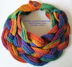 Double-Layered Braided Cowl on FB