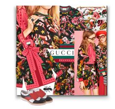 """""""Presenting the Gucci Garden Exclusive Collection: Contest Entry"""" by sylandrya ❤ liked on Polyvore featuring Gucci and gucci"""
