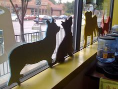If you're handy with a saw, here's a DIY tutorial for making a wooden silhouette of your pet.