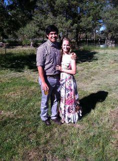 Jenny & Ryne...at Sam & Jared's wedding 7/6/13 Redmond, OR