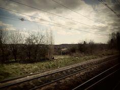 Leaving London, travelling to Edinburgh
