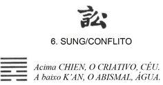 """Imagem de abertura para o post I Ching o Livro das Mutações - Livro Primeiro Hexagrama 6: Sung / Conflito publicado no endereço http://ift.tt/2xnRx2H do blog """"Sun Tzu e A Arte da Guerra"""". Referências informadas no final do post."""