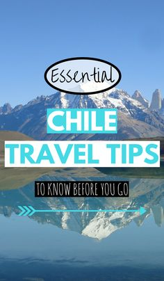 Are you planning a bucket list trip to Chile and looking for advice before you go? Here we interview Chile insider, Pedro Maldonado on his best Chile travel tips. Click through to get the tips now. Travel Advice, Travel Guides, Travel Tips, Travel Photos, Travel Images, South America Destinations, Top Travel Destinations, Backpacking South America, South America Travel