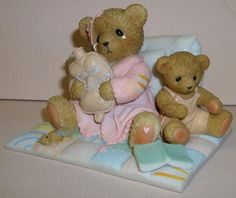 Cherished Teddies Get Well Bears Figurine NEW # 4025781