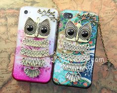 Owl iphone case,owl on the branch with bird ,floral case for iPhone 4 Case, iPhone 4s Cover, iphone 5 case cover,samsung Galaxy S3 case on Etsy, $12.99