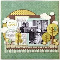 A Project by Jana Eubank from our Scrapbooking Gallery originally submitted 01/25/10 at 10:02 AM