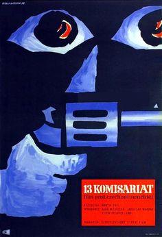 """Hubert Hilscher: """"13 KOMISARIAT"""", 1958"""