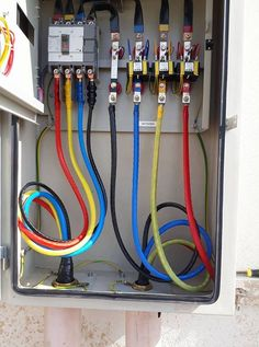 Pin by electrical technology on electrical technology in 201 Electrical Panel Wiring, Electrical Circuit Diagram, Electrical Safety, Electrical Projects, Electrical Installation, Electronics Projects, Diy Electronics, Electronic Engineering, Electrical Engineering