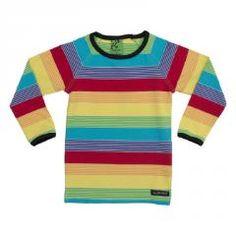 Rainbow Stripe Top - Horizon