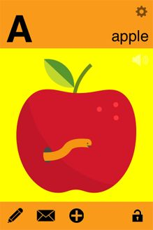 Create your own A-Z with this app! What a great way to learn words and letters. Your child will remember the words because they helped create this alphabet. Learning The Alphabet, Kids Learning, Library App, Fairy Tales For Kids, Inquiry Based Learning, Alphabet Cards, Library Images, Help Kids, Early Literacy