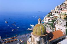 A jewel of the Amalfi Coast: It is not hard to see why Positano attracts a celebrity crowd