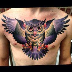 Owl chest piece.