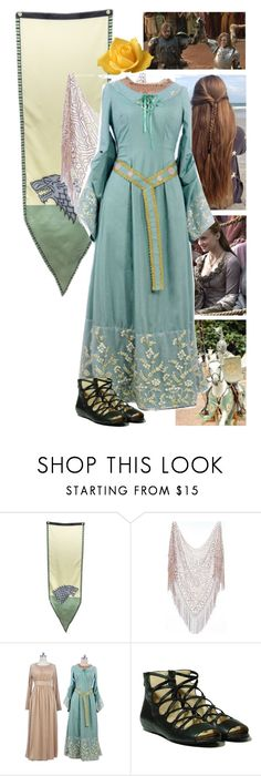 """""""Game of Thrones Kings Landing The Joust"""" by werewolf-gurl ❤ liked on Polyvore featuring MICHAEL Michael Kors"""