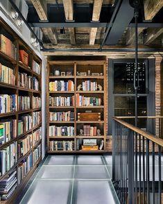 Die Bibliothek Im Eigenen Haus. Ein Penthouse In New York. 📚🏙