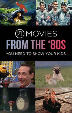 21 Movies From The '80s You Need To Show Your Kids