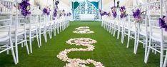 Gazon synthétique pour mariages. #gazonsynthetique  Plus d'information : http://www.gazonsynthetiqueiag.fr