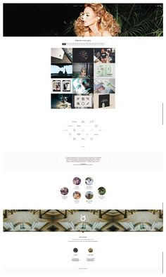 Scrolling Website homepage design ideas | http://rabbithole.agency/