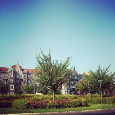 #Summer day in #Szczecin. Plac Odrodzenia - one of the Orion's Sqaures -> http://bit.ly/1xSlZc2