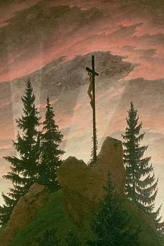 """Unveiling his painting """"Cross in the Mountains"""" in his Dresden studio, artist Caspar David Friedrich """"sparked a controversy that would force contemporaries to rethink not only art criticism, but also the evocation of the divine."""" Read on: http://www.plough.com/en/topics/culture/holidays/easter-readings/nature-and-revelation"""