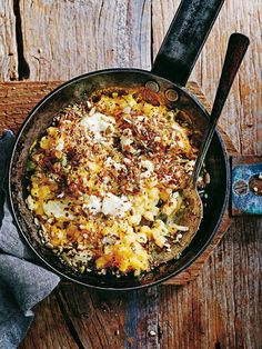 Butternut Mac And Cheese With Rosemary And Seed Topping | Donna Hay