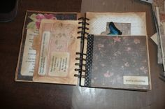From junk journal - Grief