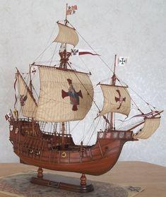 Santa Maria Ship Model / Stephen Lok ~START~